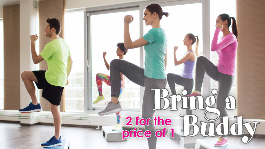 Bring a Buddy - February Offer - 2 for the price of 1