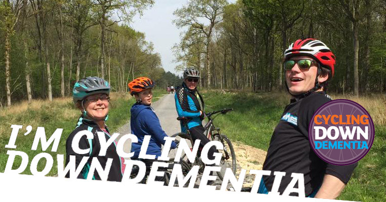 Cycling Down Dementia - Winter Challenge For Smart Fitt
